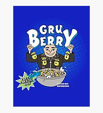 Gru Berry Photographic Print