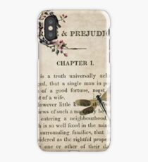 Pride and Prejudice Watercolour Tribute First Page iPhone Case/Skin