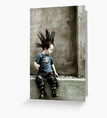 Young Punx Greeting Card