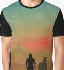 Warriors Landscapes - Red Dead Redemption Graphic T-Shirt