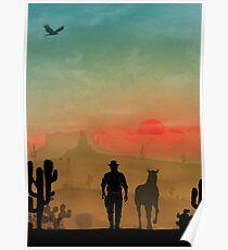 Warriors Landscapes - Red Dead Redemption Poster