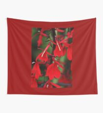 Vision In Red Wall Tapestry