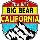 BIG BEAR LAKE CALIFORNIA SKIING SKI LAKE BOAT BOATING SNOWBOARD by MyHandmadeSigns