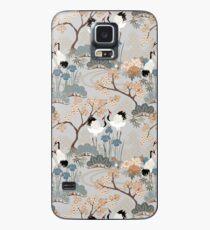 Japanese Garden Gray Case/Skin for Samsung Galaxy