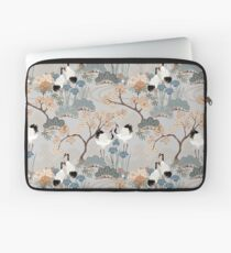 Japanese Garden Gray Laptop Sleeve