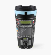 Airplane cockpit Travel Mug