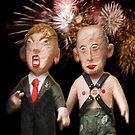 Donald & Vladimir. We Did It! One Year Anniversary. 11.8.2017 by Alex Preiss