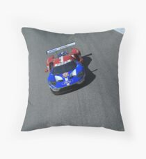 Ford GT LM GTE-Pro Throw Pillow