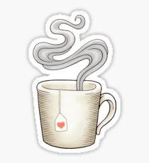 Pegatina El té es amor