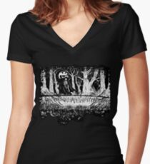 B.C. Trees Shirts Women's Fitted V-Neck T-Shirt