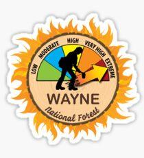 Wayne National Forest Wildland Firefighter Sticker