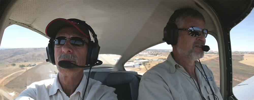 Pilot Steve and Harry Black by Paul Lindenberg