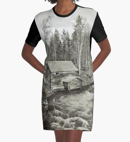 Finland Graphic T-Shirt Dress