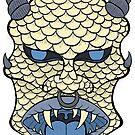 Lizard Demon Warrior by Brett Gilbert