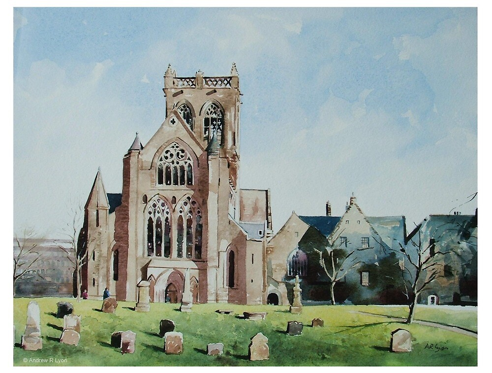 Paisley Abbey by Andrew Lyon