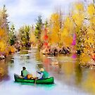 Autumn Canoe Trip by Mike Prout
