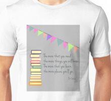 Read, Dr Seuss Unisex T-Shirt