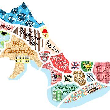 Map of Cambridge, MA by mfarmand