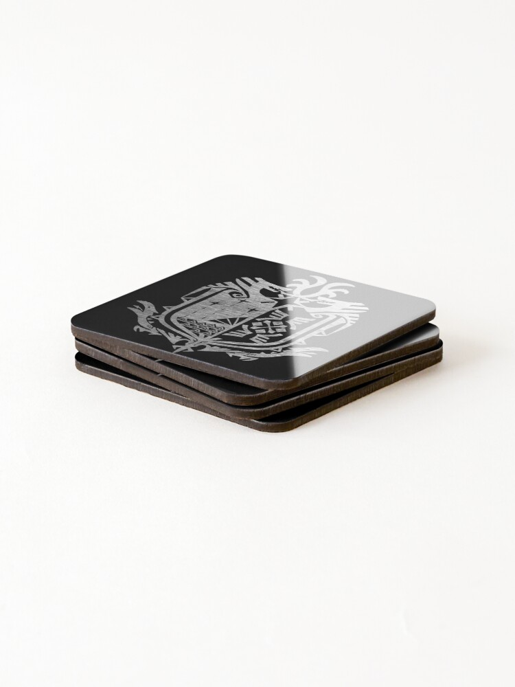 Alternate view of Monster Hunter World Coasters (Set of 4)