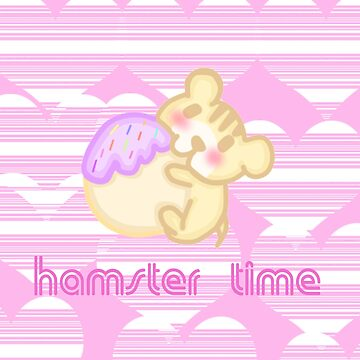 Hamster Time by mikistarlight