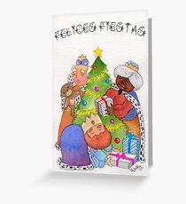 Los Tres Reyes Magos Greeting Card