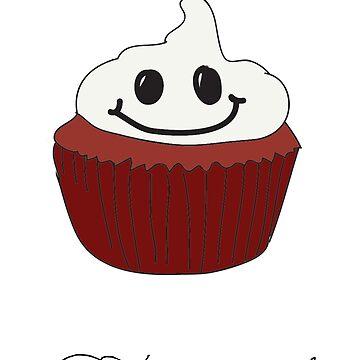 Red Velvet Cupcake by NicksChick