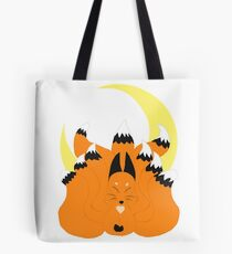 The Fox and The Moon Tote Bag