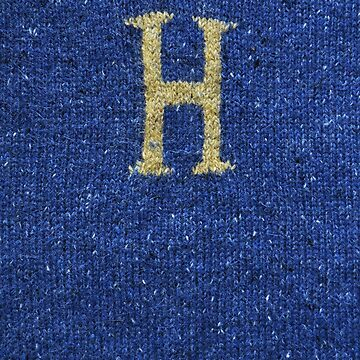 Knitted 'H' by Whatsapooka