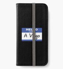 Hello I am a virgo iPhone Wallet/Case/Skin