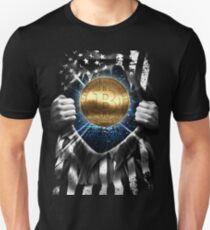 Bitcoin BTC Cryptocurrency  Unisex T-Shirt