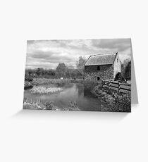 Bunratty Folk Park mill Greeting Card