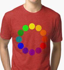 Colour Wheel 2 Tri-blend T-Shirt