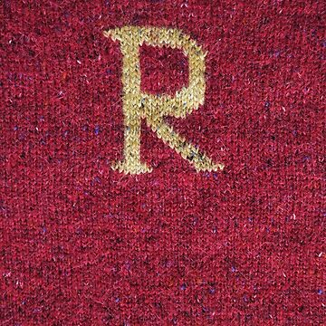 Knitted 'R' by Whatsapooka