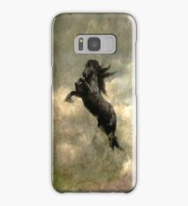 """Friesian Horse"" Samsung Galaxy Case/Skin"