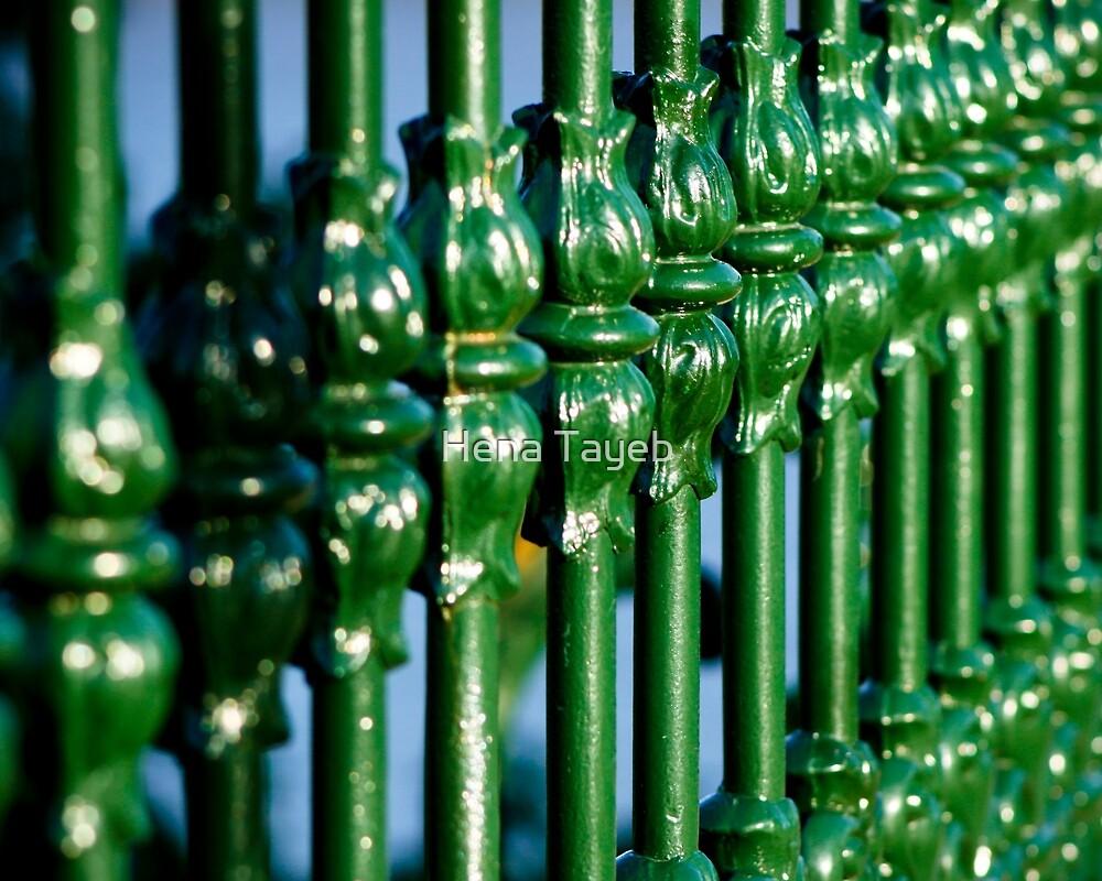 Green Gate by Hena Tayeb