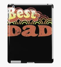 Best Dad 70s Style Clothing iPad Case/Skin