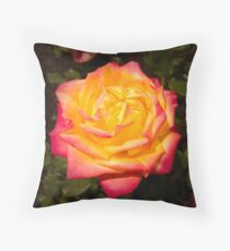 Renmark Rose Throw Pillow