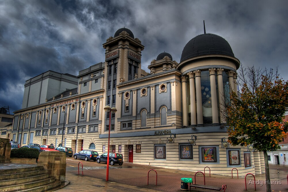 Alhambra Theatre Bradford by Andy Harris