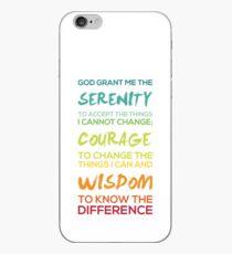 Serenity Prayer Graphic iPhone Case