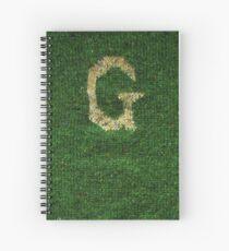 Knitted 'G' Spiral Notebook