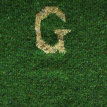Knitted 'G' by Whatsapooka
