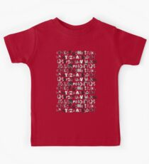 ABC red Kids Clothes