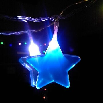 Twinkle-Twinkle Blue Star by SidelineArt