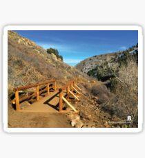 Trail Bridge Sticker