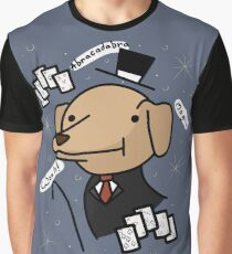 Abracadabra Magic Dog Graphic T-Shirt