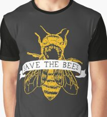 Save The Bees! (Dark) Graphic T-Shirt