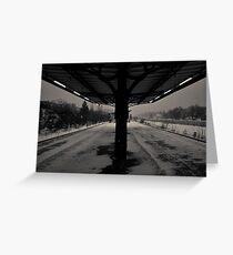 Urbanex 18 Black and White Grußkarte