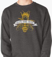Save The Bees! (Dark) Pullover Sweatshirt