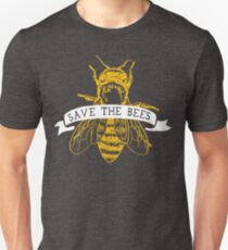 Save The Bees! (Dark) Unisex T-Shirt