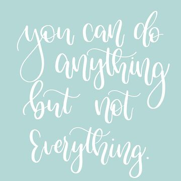 You can do anything motivational quote by merchedpillows